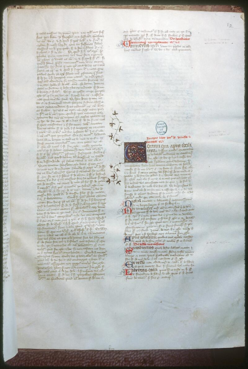 Tours, Bibl. mun., ms. 0651, f. 082