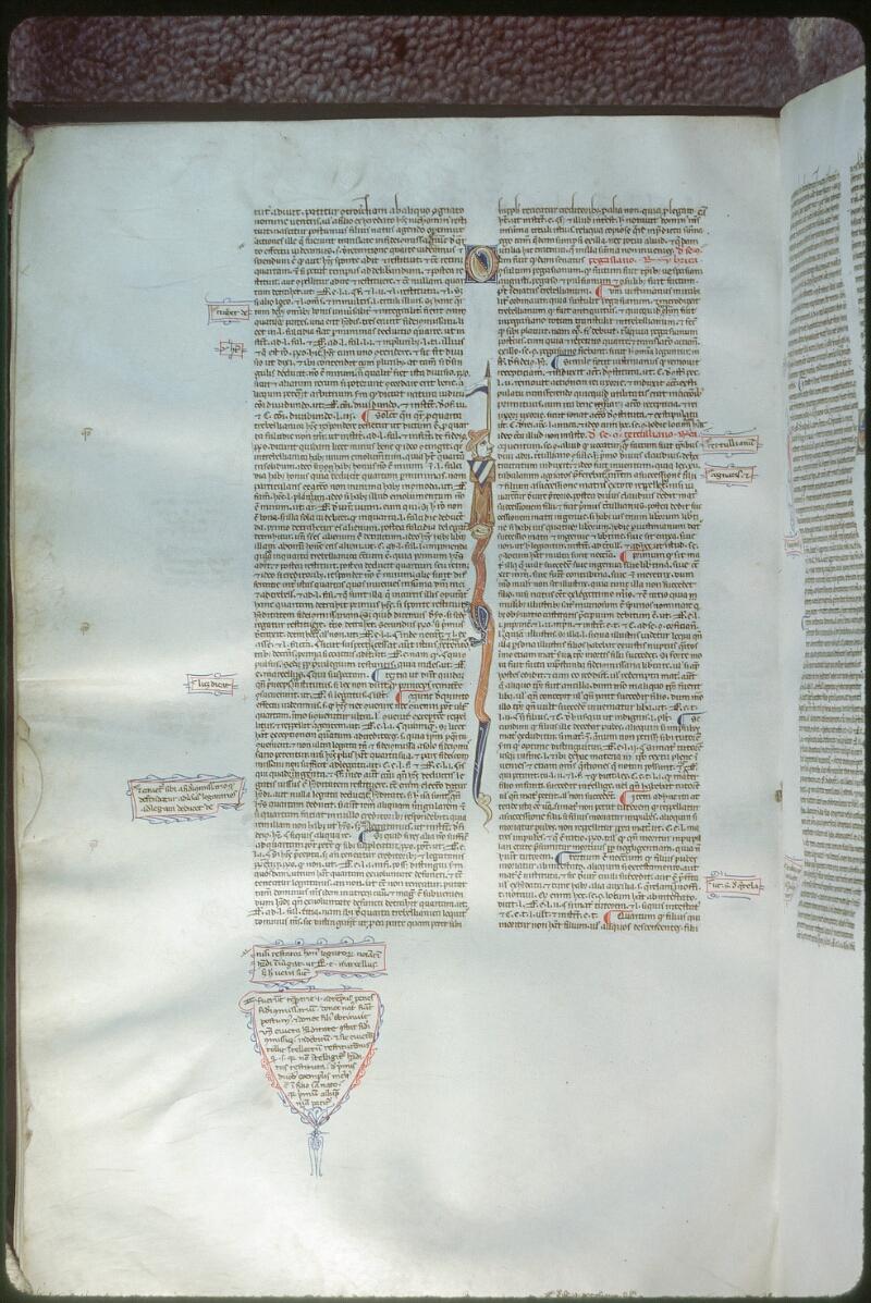 Tours, Bibl. mun., ms. 0654, f. 150v - vue 1