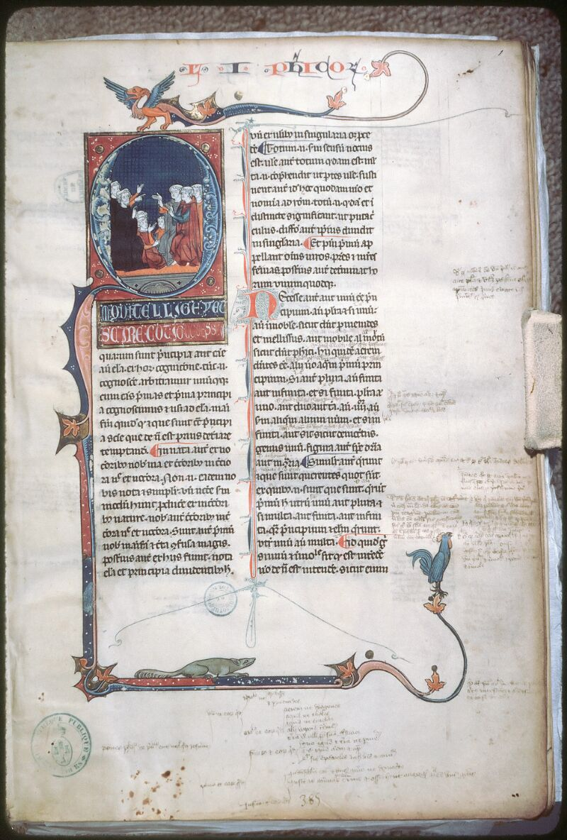 Tours, Bibl. mun., ms. 0679, f. 001 - vue 1