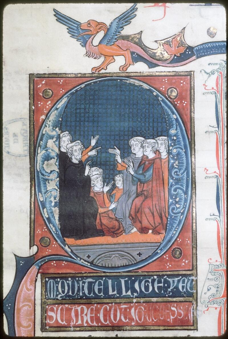 Tours, Bibl. mun., ms. 0679, f. 001 - vue 2