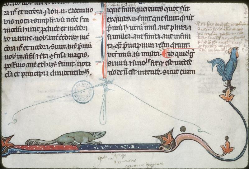 Tours, Bibl. mun., ms. 0679, f. 001 - vue 3