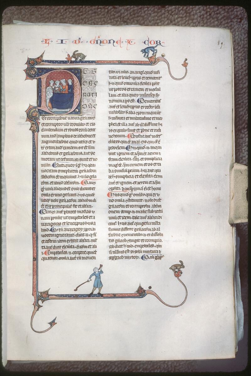 Tours, Bibl. mun., ms. 0679, f. 089 - vue 1