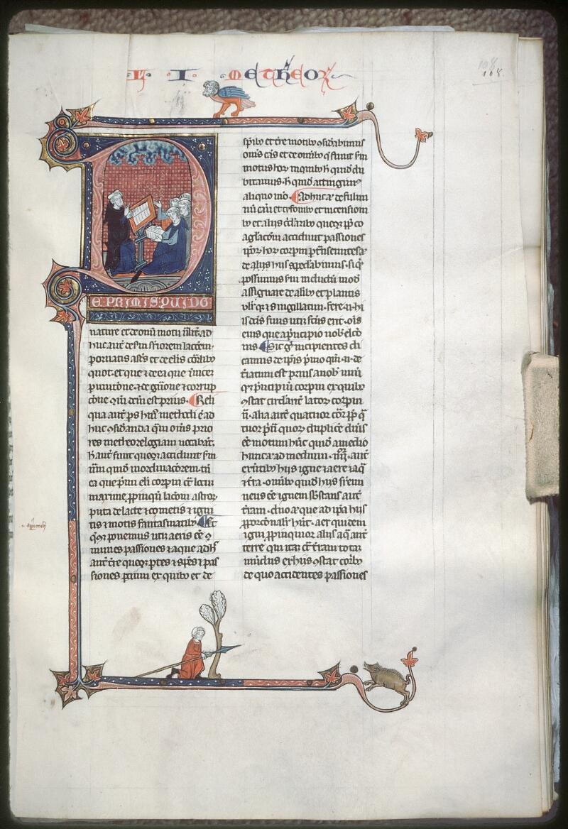 Tours, Bibl. mun., ms. 0679, f. 108 - vue 1