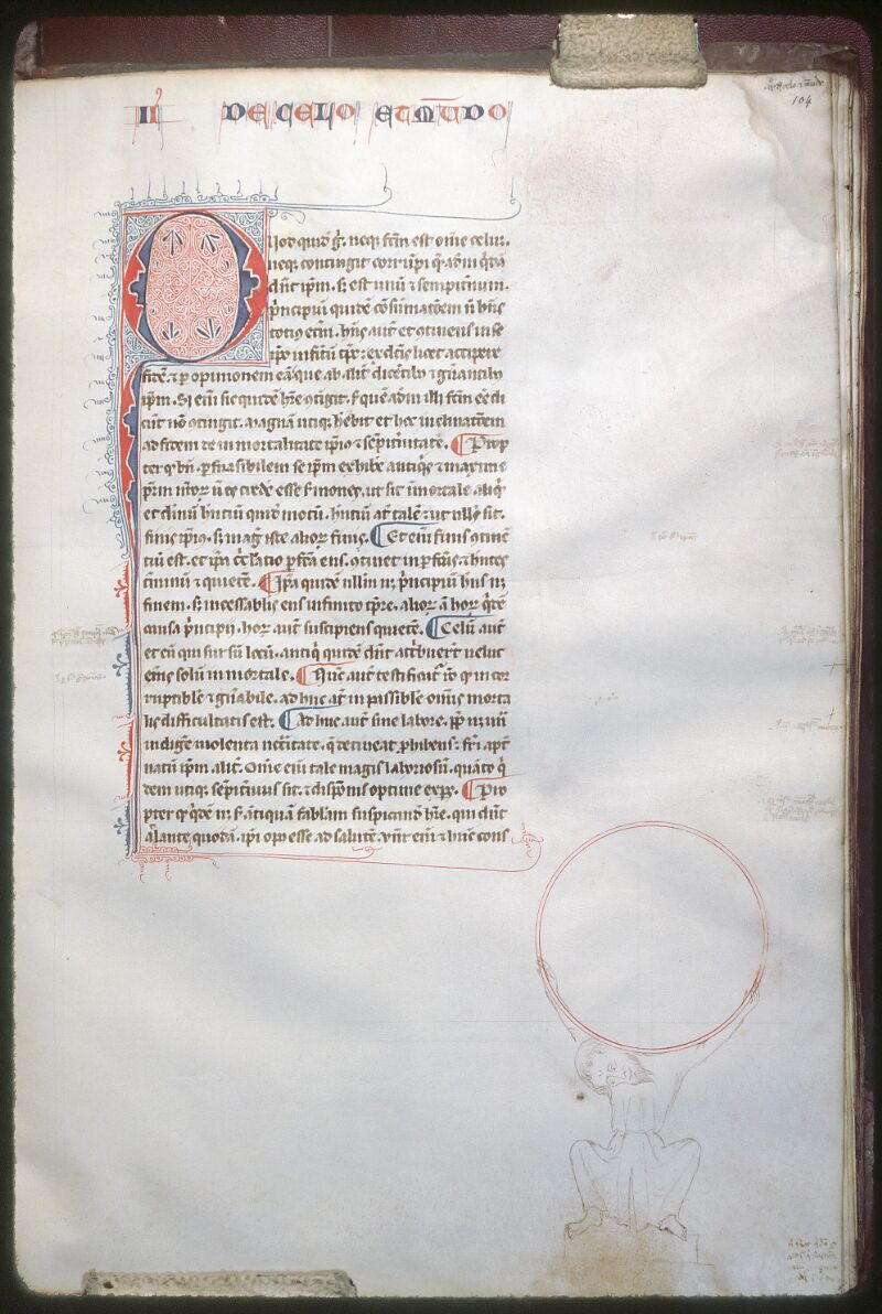 Tours, Bibl. mun., ms. 0681, f. 104 - vue 1