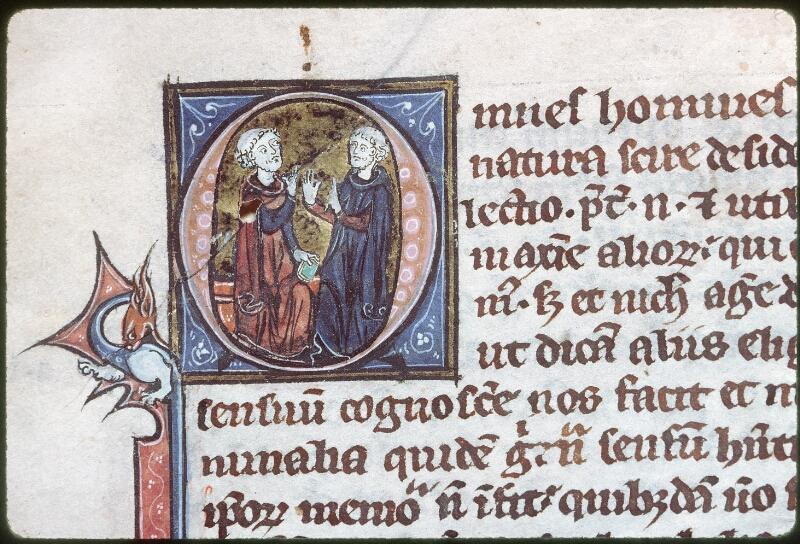 Tours, Bibl. mun., ms. 0686, f. 001 - vue 2