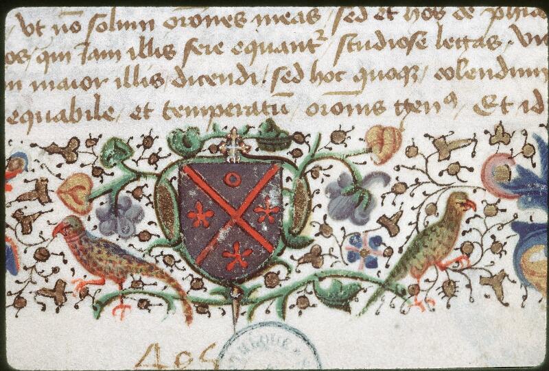 Tours, Bibl. mun., ms. 0690, f. 001 - vue 2