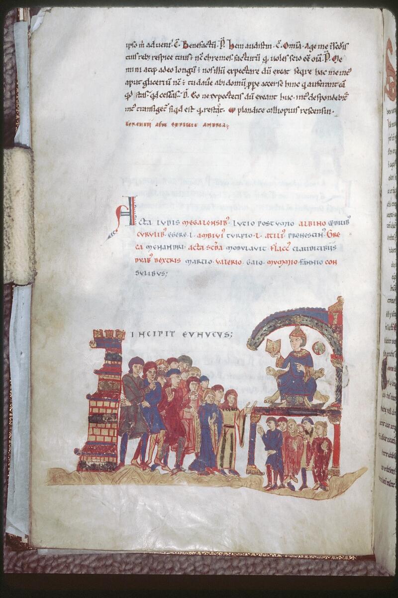 Tours, Bibl. mun., ms. 0924, f. 013v - vue 1