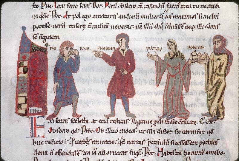 Tours, Bibl. mun., ms. 0924, f. 021v - vue 1