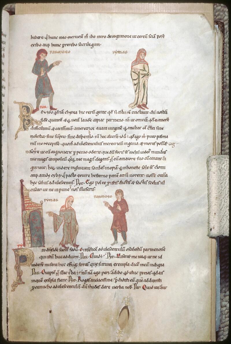 Tours, Bibl. mun., ms. 0924, f. 025 - vue 1