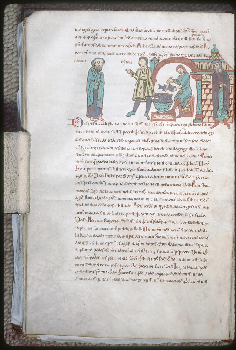 Tours, Bibl. mun., ms. 0924, f. 045v - vue 1