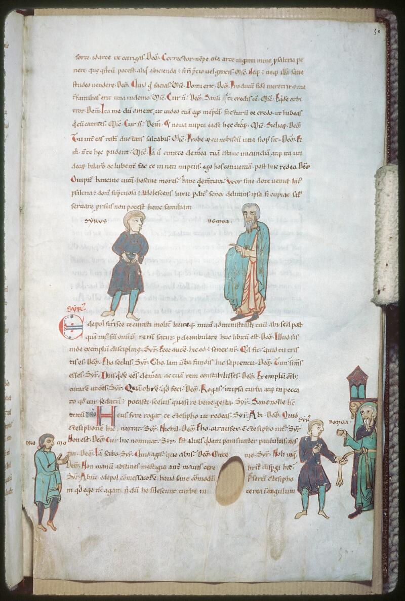 Tours, Bibl. mun., ms. 0924, f. 050 - vue 1