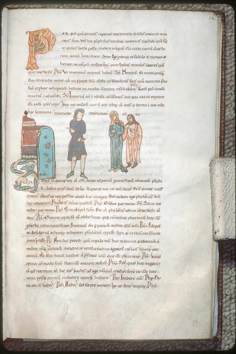 Tours, Bibl. mun., ms. 0924, f. 054 - vue 1