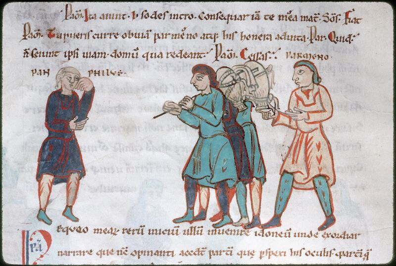 Tours, Bibl. mun., ms. 0924, f. 057v - vue 1