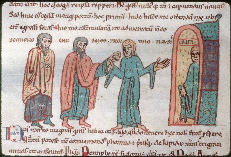 Tours, Bibl. mun., ms. 0924, f. 075v - vue 1