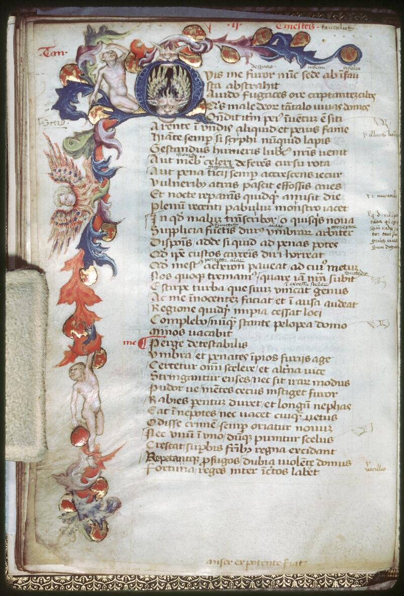 Tours, Bibl. mun., ms. 0926, f. 021v - vue 1