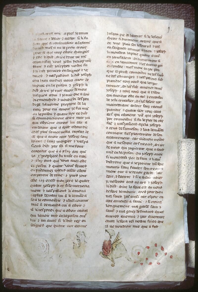 Tours, Bibl. mun., ms. 0951, f. 009 - vue 1