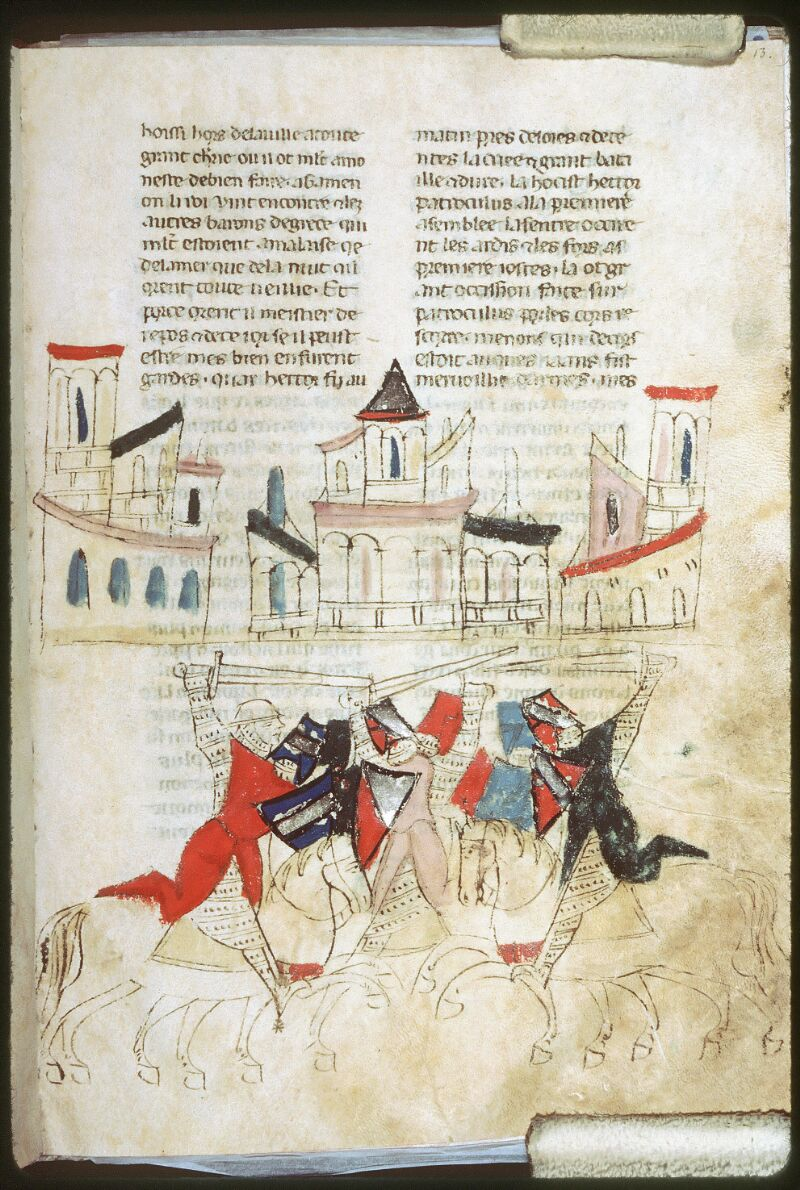 Tours, Bibl. mun., ms. 0953, f. 013 - vue 1