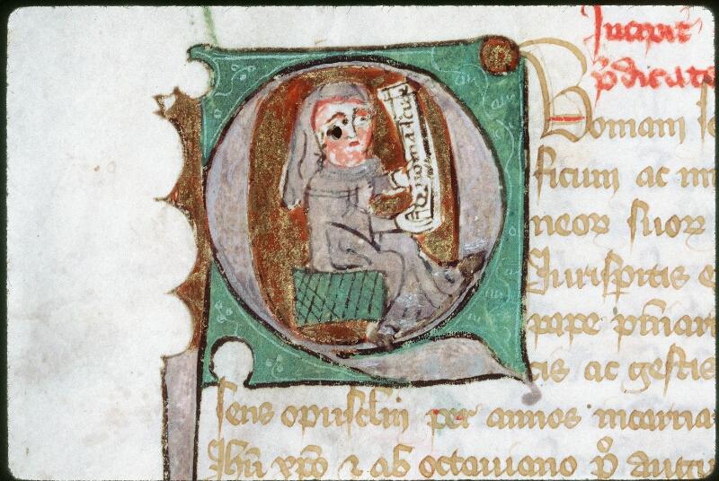 Tours, Bibl. mun., ms. 0976, f. 001 - vue 2