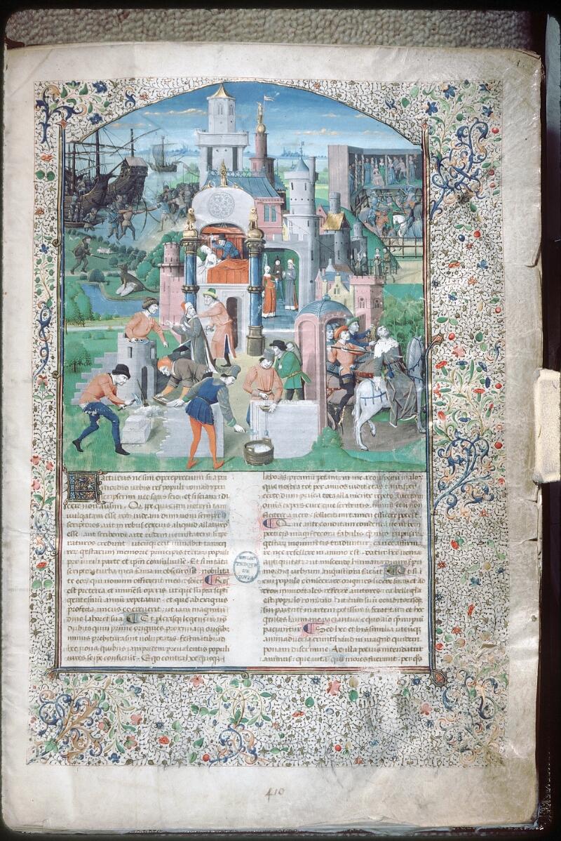 Tours, Bibl. mun., ms. 0984, f. 001 - vue 1