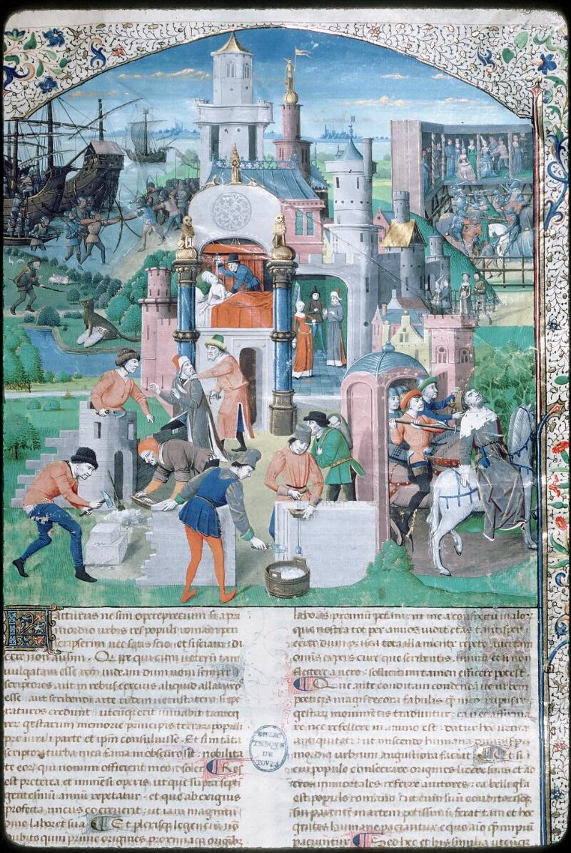 Tours, Bibl. mun., ms. 0984, f. 001 - vue 2