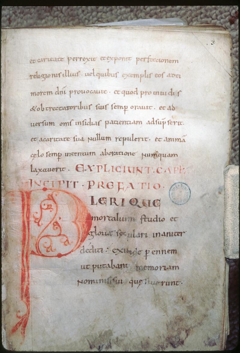 Tours, Bibl. mun., ms. 1018, f. 003
