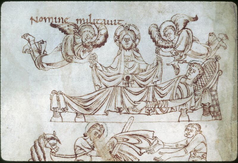 Tours, Bibl. mun., ms. 1018, f. 009v - vue 2