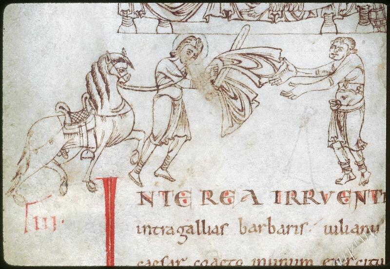 Tours, Bibl. mun., ms. 1018, f. 009v - vue 3