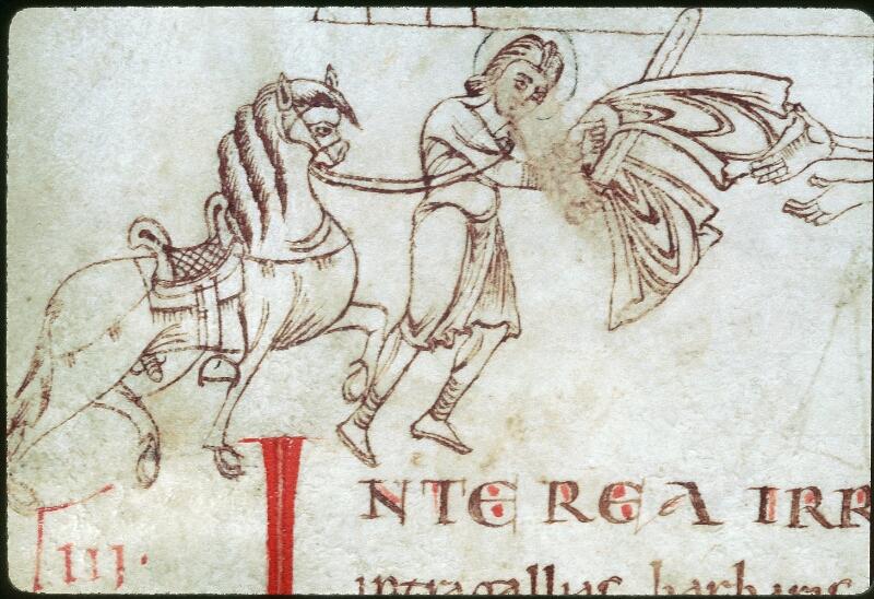 Tours, Bibl. mun., ms. 1018, f. 009v - vue 4