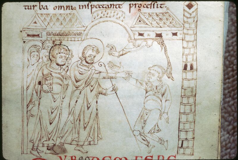 Tours, Bibl. mun., ms. 1018, f. 018 - vue 2