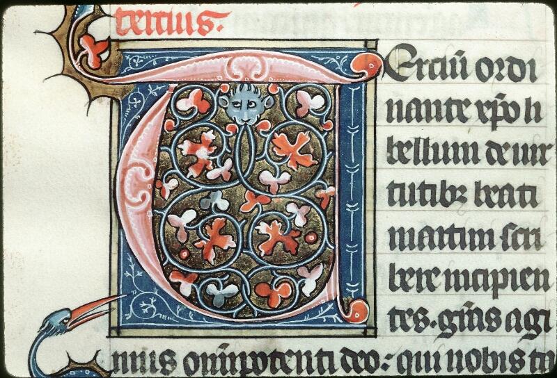 Tours, Bibl. mun., ms. 1023, f. 066 - vue 2