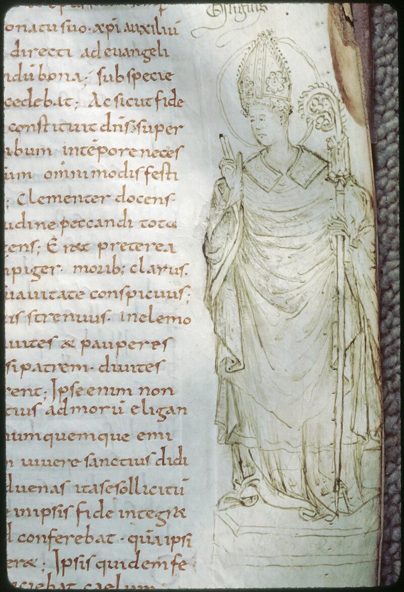 Tours, Bibl. mun., ms. 1028, f. 032 - vue 2