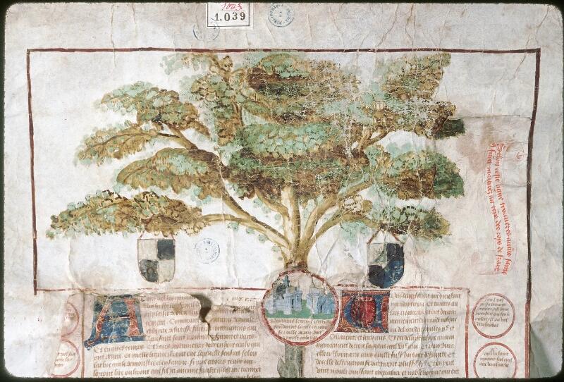Tours, Bibl. mun., ms. 1039 - vue 01