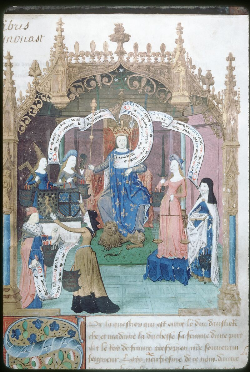 Tours, Bibl. mun., ms. 1047, f. 001 - vue 2