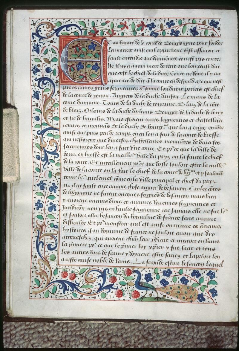 Tours, Bibl. mun., ms. 1047, f. 028v - vue 1