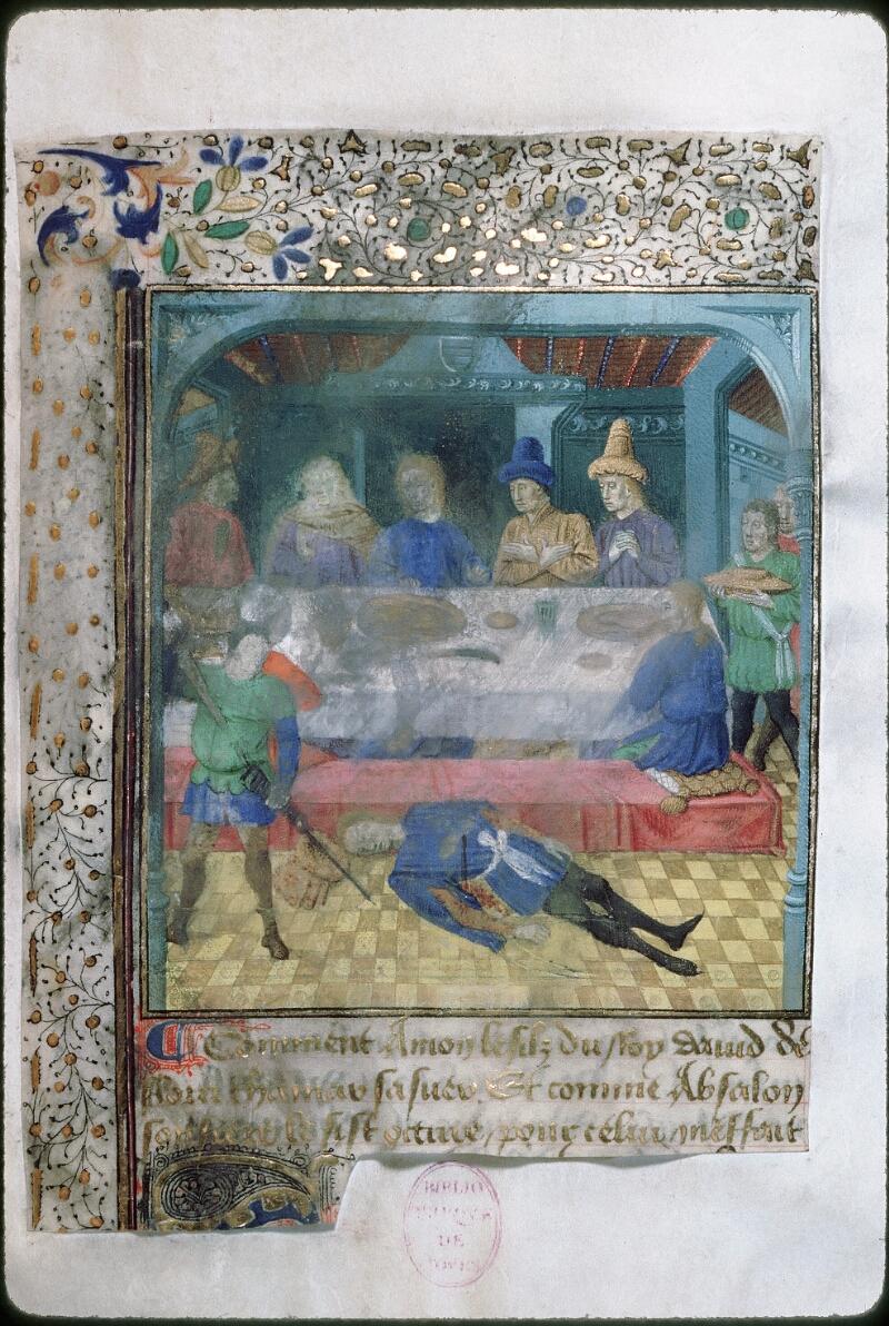 Tours, Bibl. mun., ms. 1850, f. 003 - vue 1