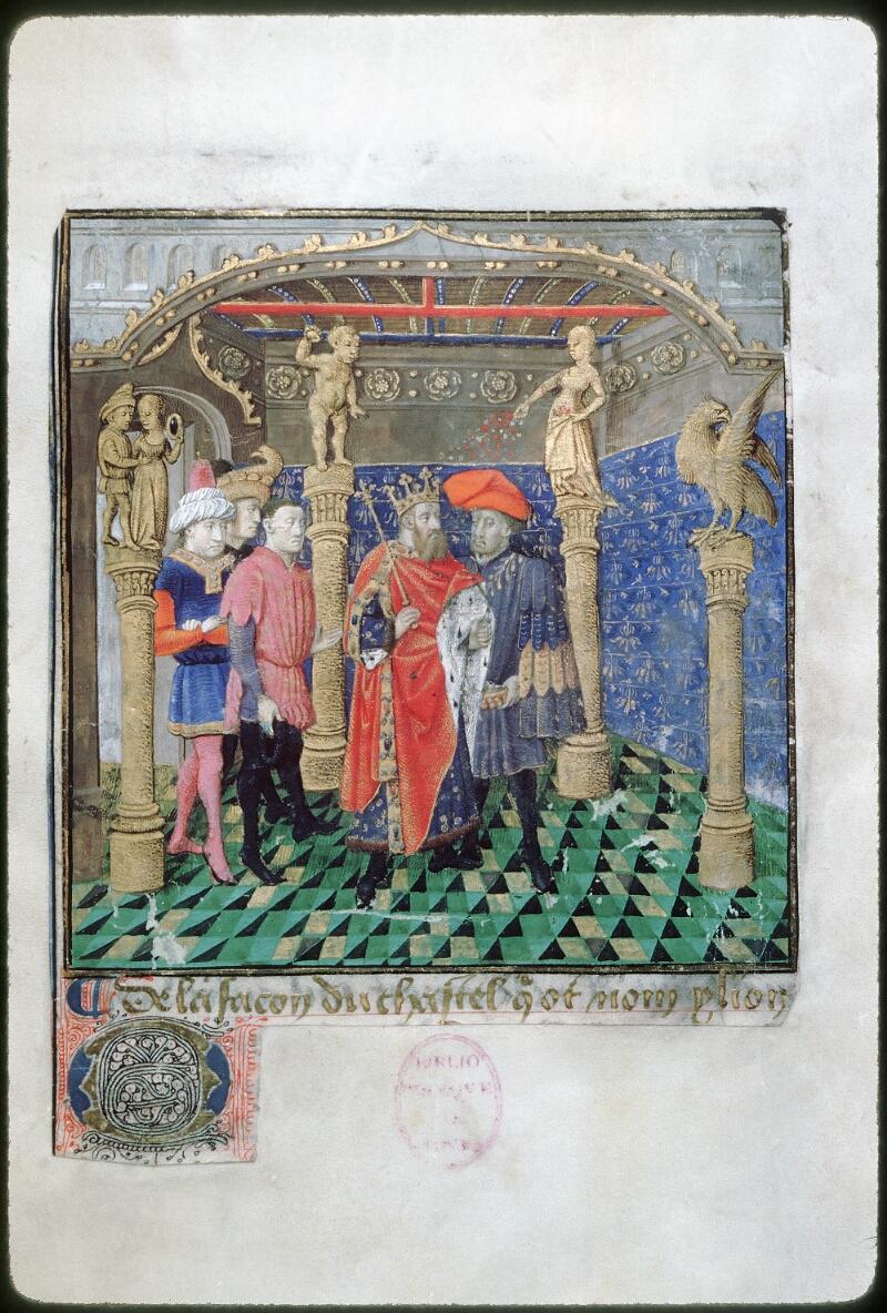 Tours, Bibl. mun., ms. 1850, f. 006 - vue 1