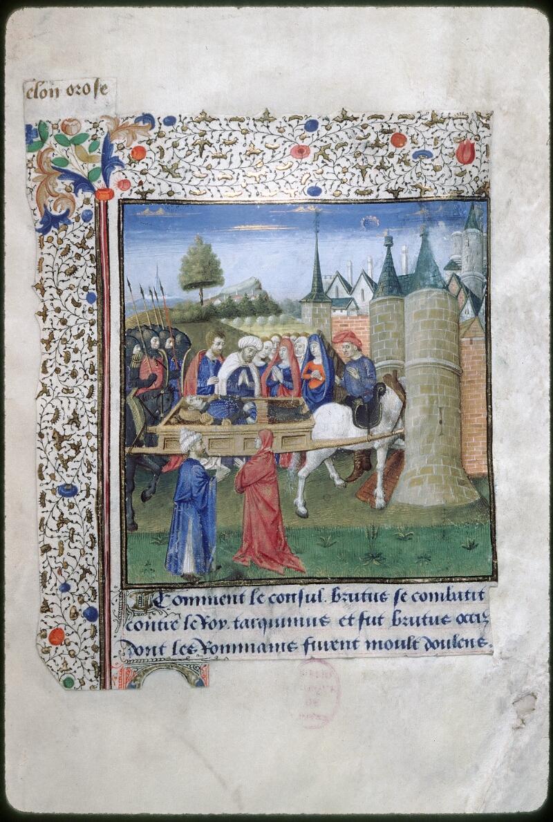 Tours, Bibl. mun., ms. 1850, f. 010 - vue 1
