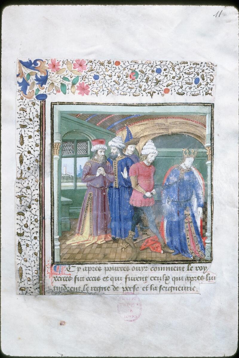 Tours, Bibl. mun., ms. 1850, f. 011 - vue 1