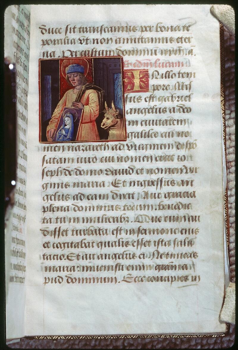 Tours, Bibl. mun., ms. 2042, f. 008 - vue 1