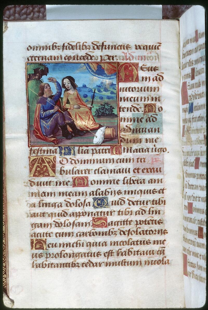 Tours, Bibl. mun., ms. 2042, f. 035v - vue 1
