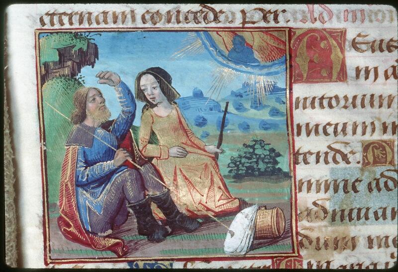 Tours, Bibl. mun., ms. 2042, f. 035v - vue 2