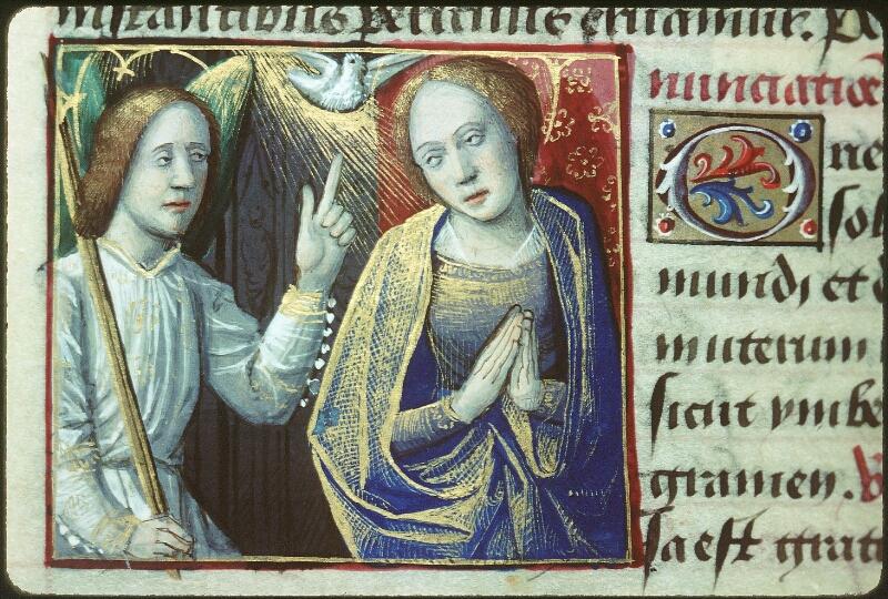 Tours, Bibl. mun., ms. 2104, f. 129v - vue 2