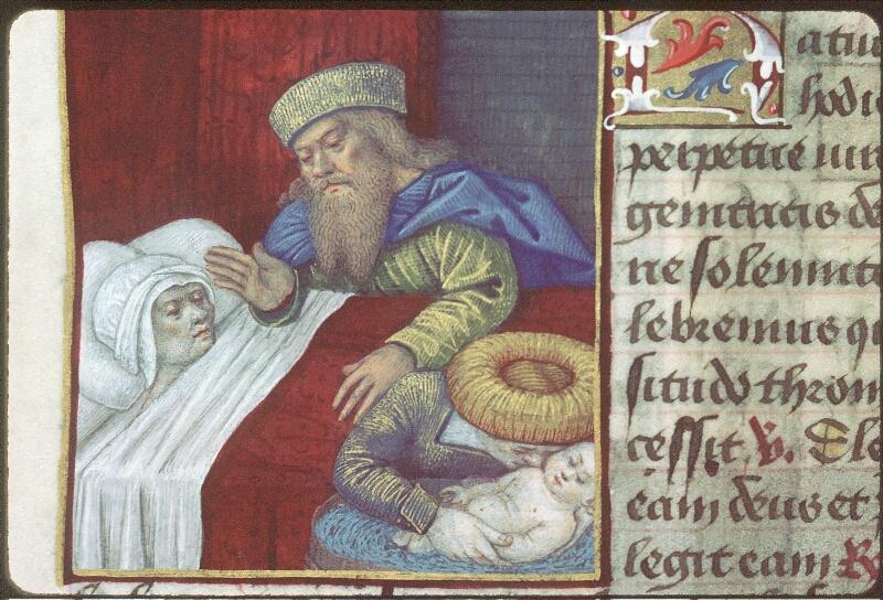 Tours, Bibl. mun., ms. 2104, f. 130v - vue 1