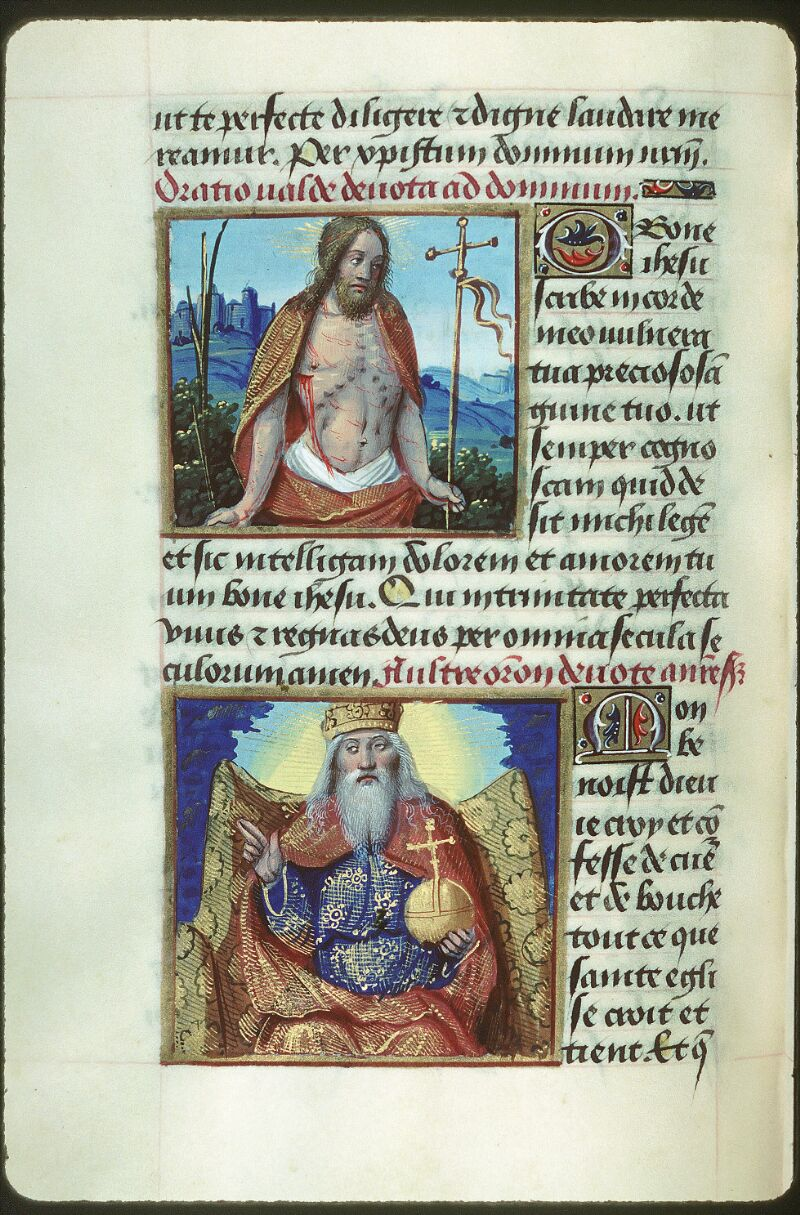 Tours, Bibl. mun., ms. 2104, f. 155v - vue 1
