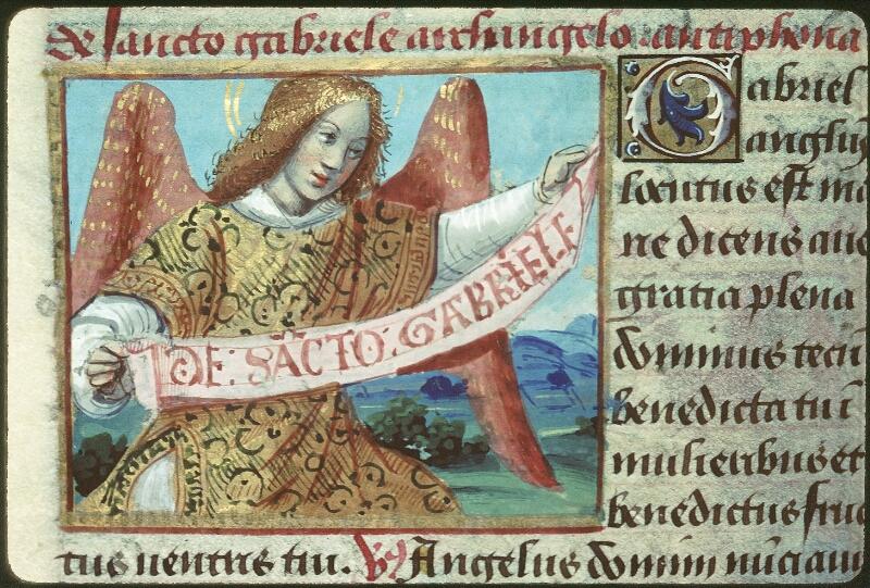 Tours, Bibl. mun., ms. 2104, f. 160v - vue 1