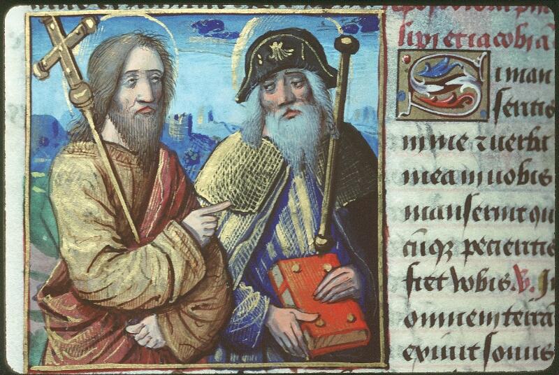 Tours, Bibl. mun., ms. 2104, f. 162v - vue 2