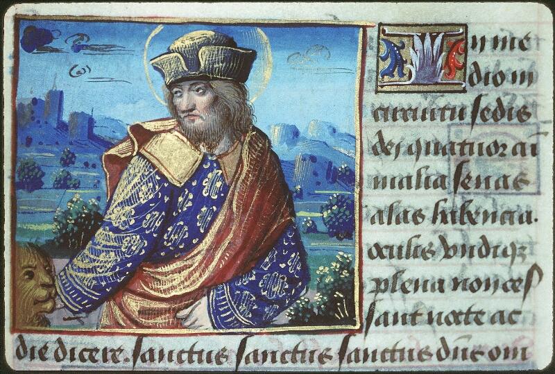 Tours, Bibl. mun., ms. 2104, f. 164 - vue 1