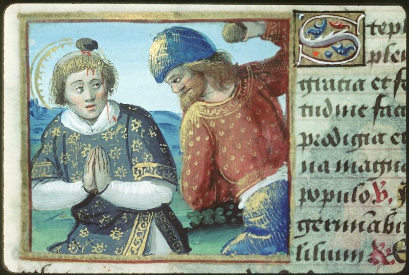 Tours, Bibl. mun., ms. 2104, f. 165v - vue 1