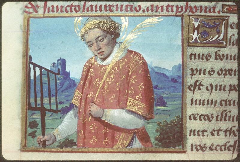 Tours, Bibl. mun., ms. 2104, f. 165v - vue 2