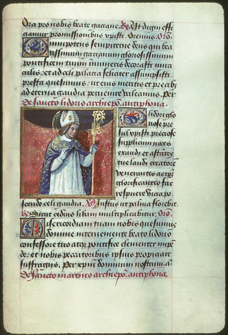 Tours, Bibl. mun., ms. 2104, f. 169 - vue 1